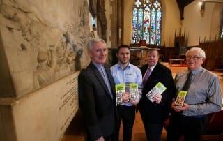 leaflet - monuments of Lisburn Cathedral