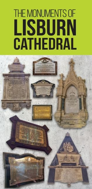 Frontpage of Lisburn Cathedral Monuments