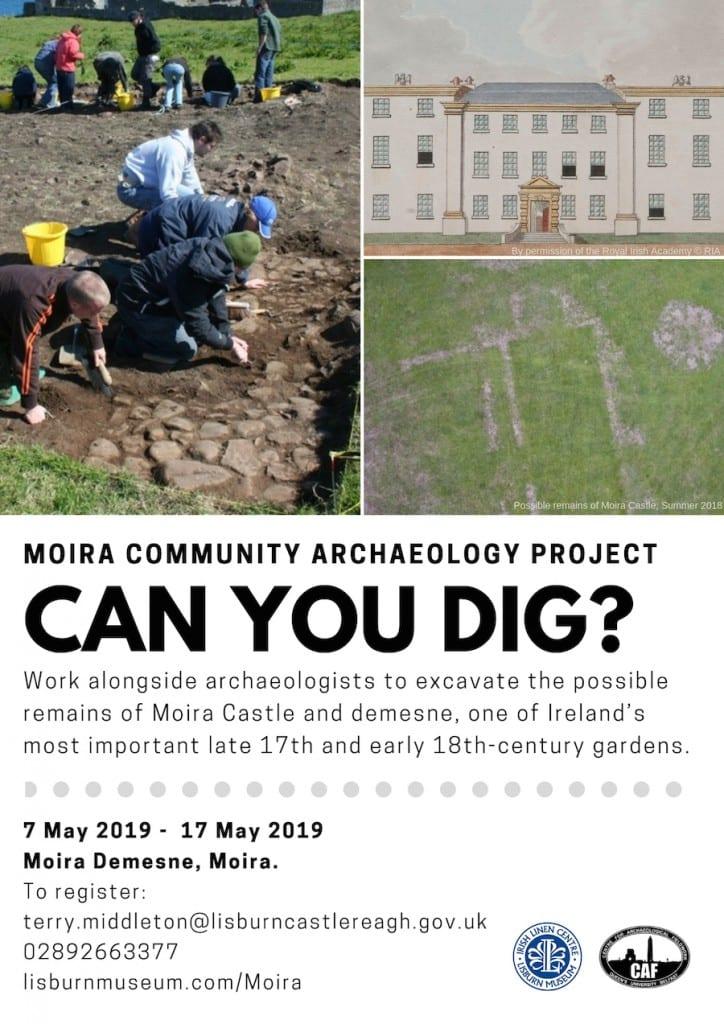 Moira Demesne Community Archaeology Project