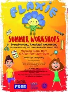 Free Summer Workshops at Lisburn Museum 2019