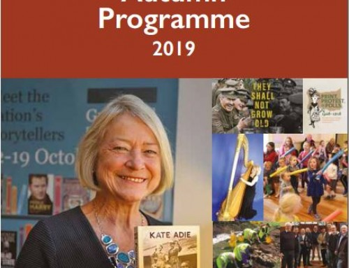 2019 Autumn Programme feat. Kate Adie, Donna Gilligan, Eamon Phoenix, Brenda Collins and Ruairí Ó Baoill