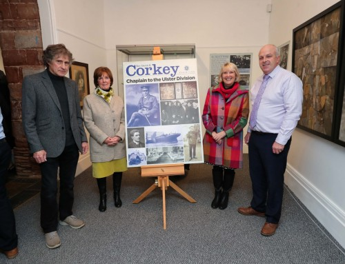 Exhibition exploring the life of Rev David Corkey, Chaplain to the Ulster Division, is celebrated with presentation to the Museum