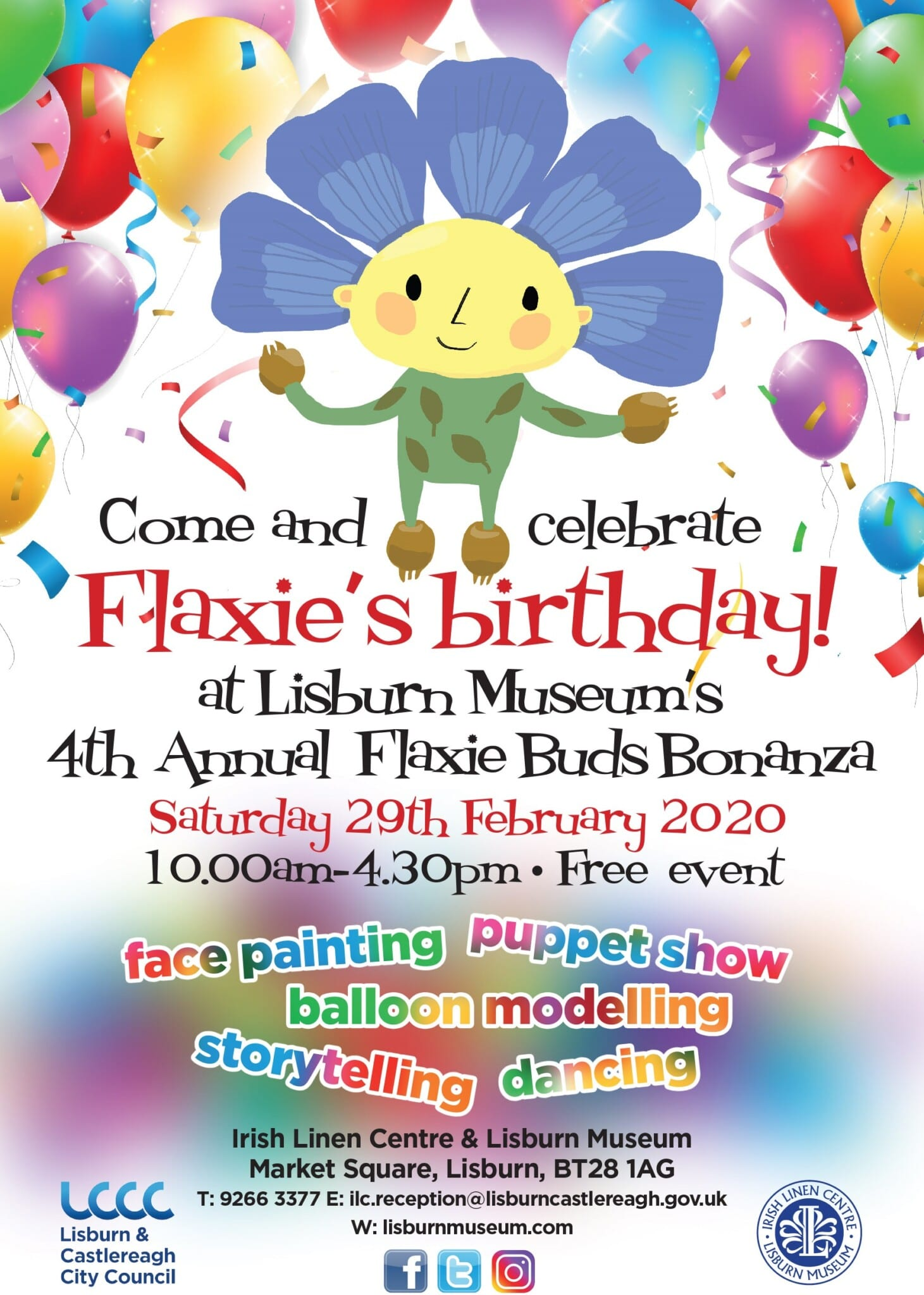 flaxie buds flyer