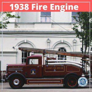 Lisburn Museum 1938 Fire Engine