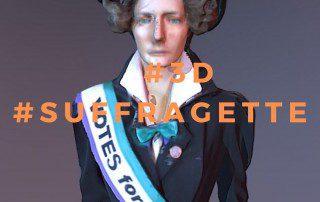 3d Suffragette Digital Metge