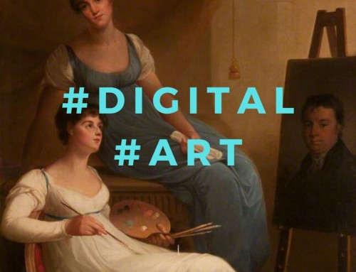 Digital Art: Is the museum full of portraits of old men? No!