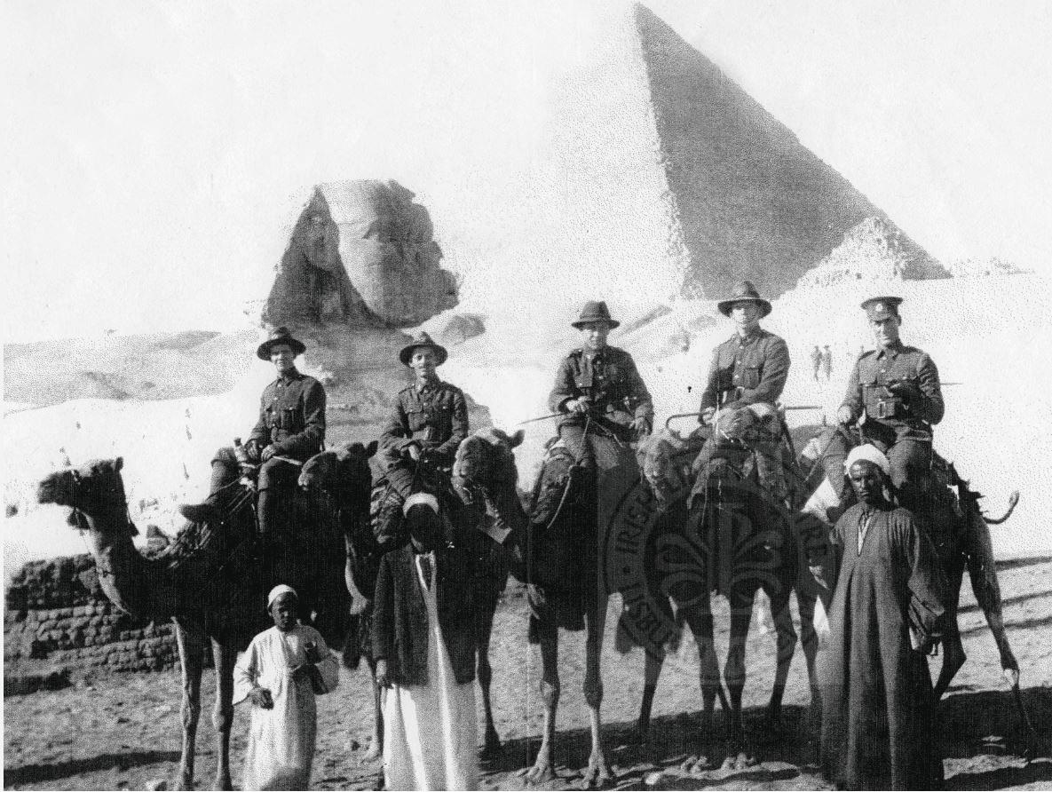 Alec Martin Lisburn in egypt