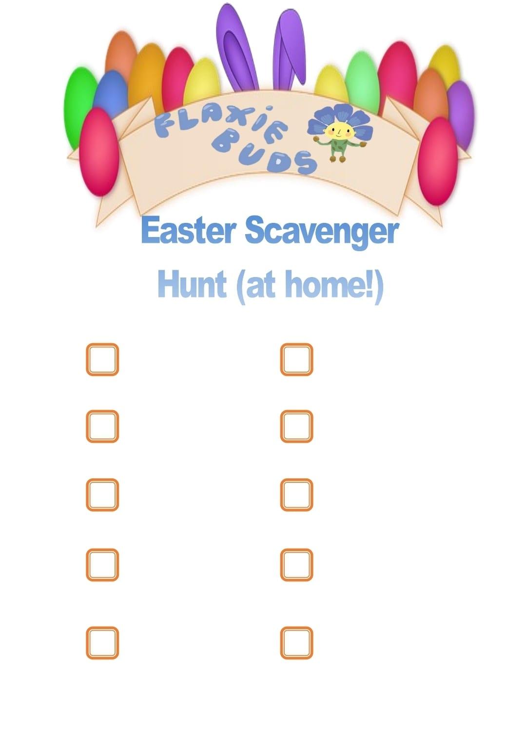 scavenger template