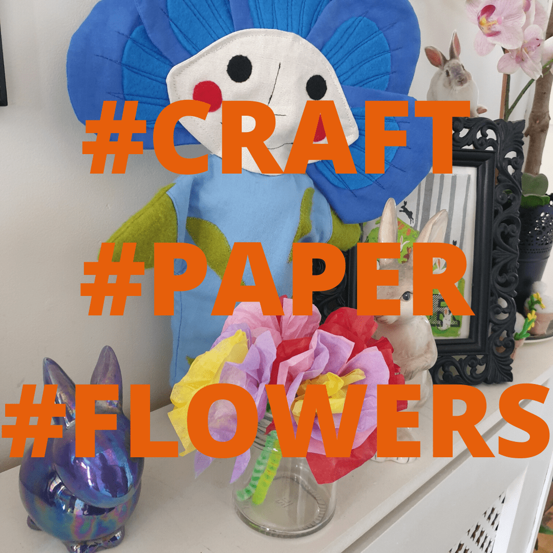paper flower cover