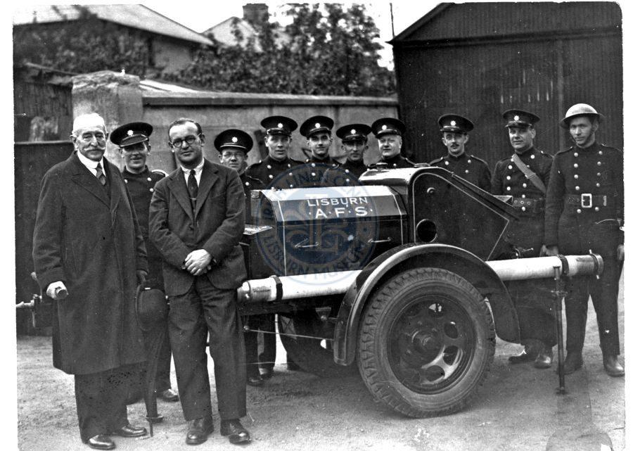 Auxiliary Fire Service, Lisburn