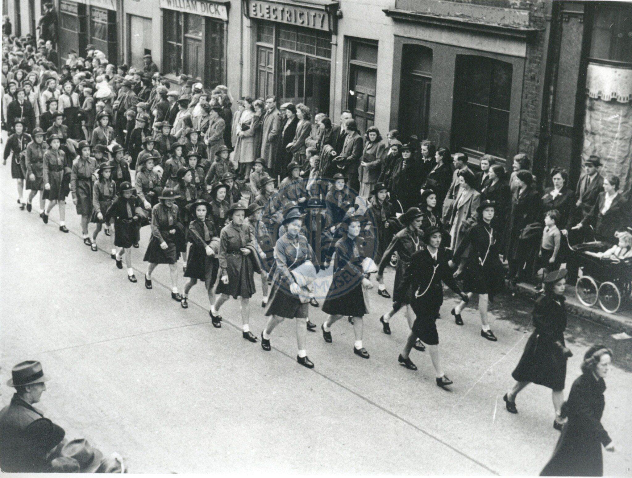 VE Day in Lisburn 8 May 1945