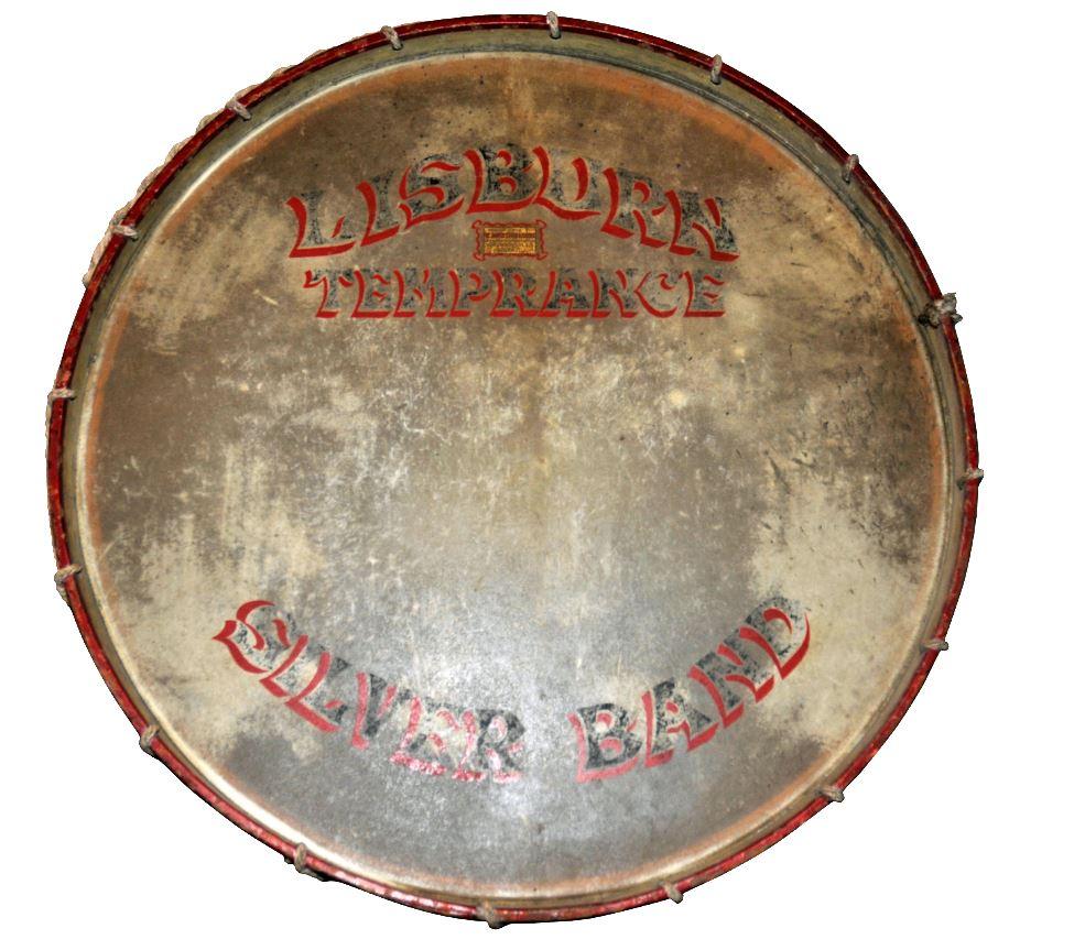 Lisburn Silver Band Drum