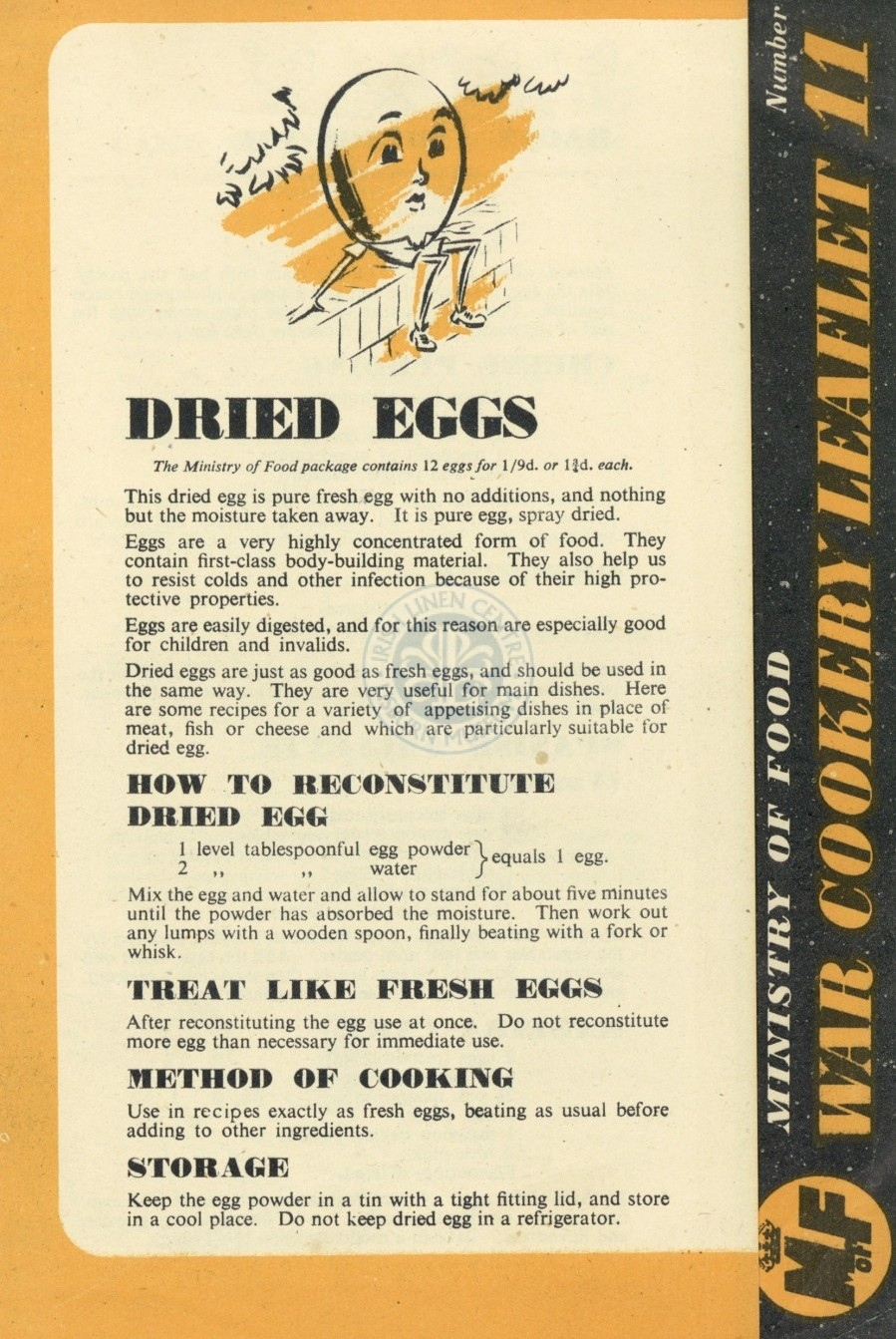 Dried Eggs