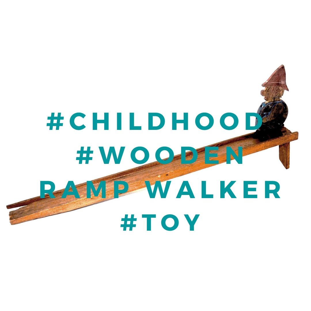Wooden Ramp Walker Toy, Childhood