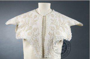 Ladies Linen Collar 1850, ILCLM Collection