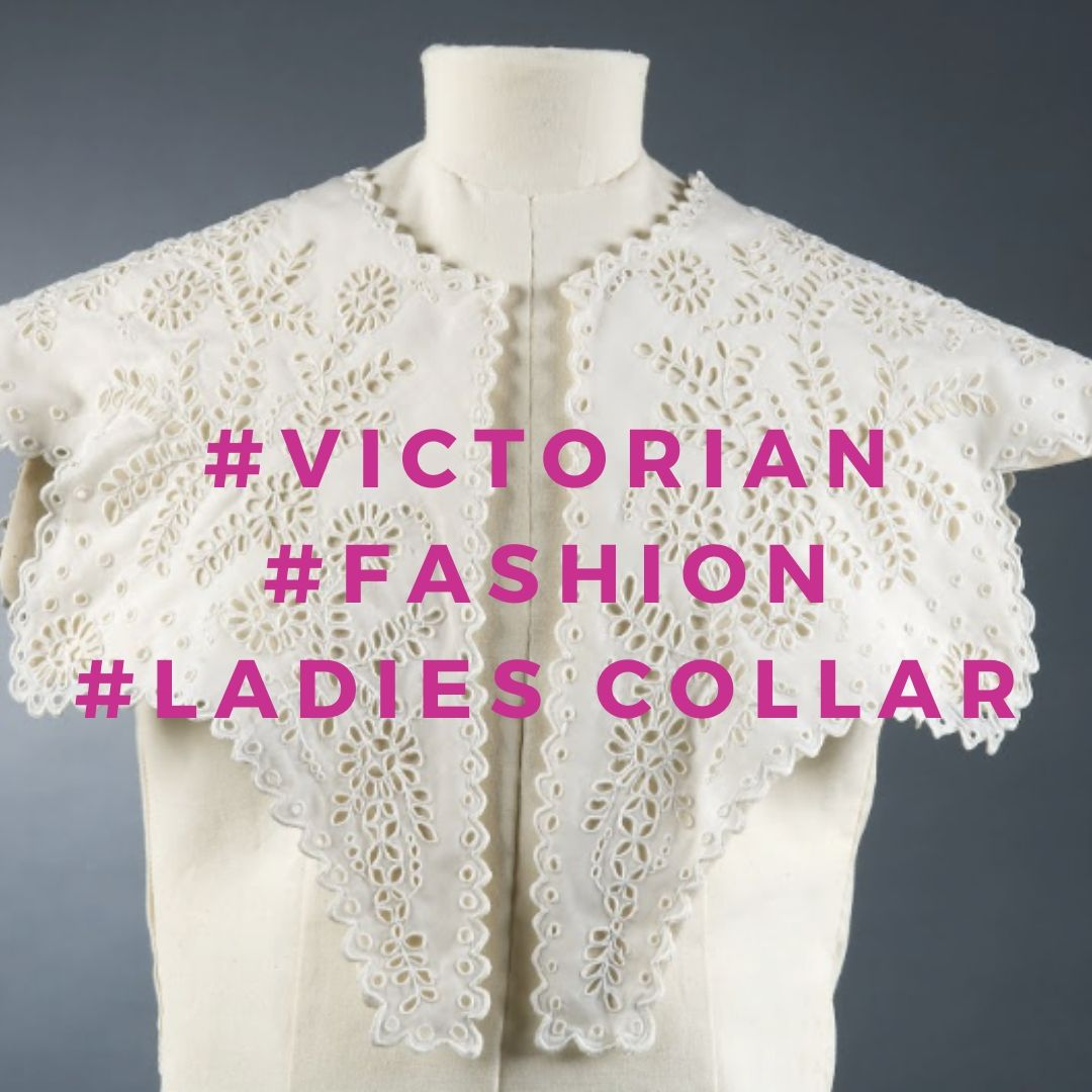 Victorian Fashion Ladies Linen Collar, ILCLM Collection