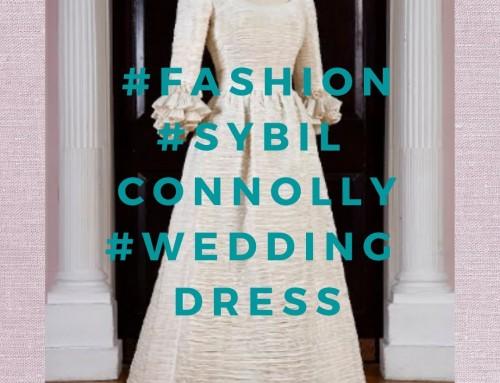 Object: Sybil Connolly Linen Wedding Dress
