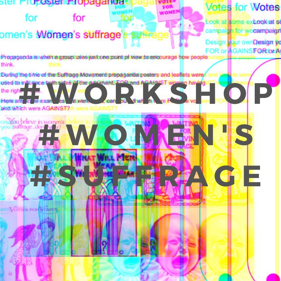 women's suffrage workshop