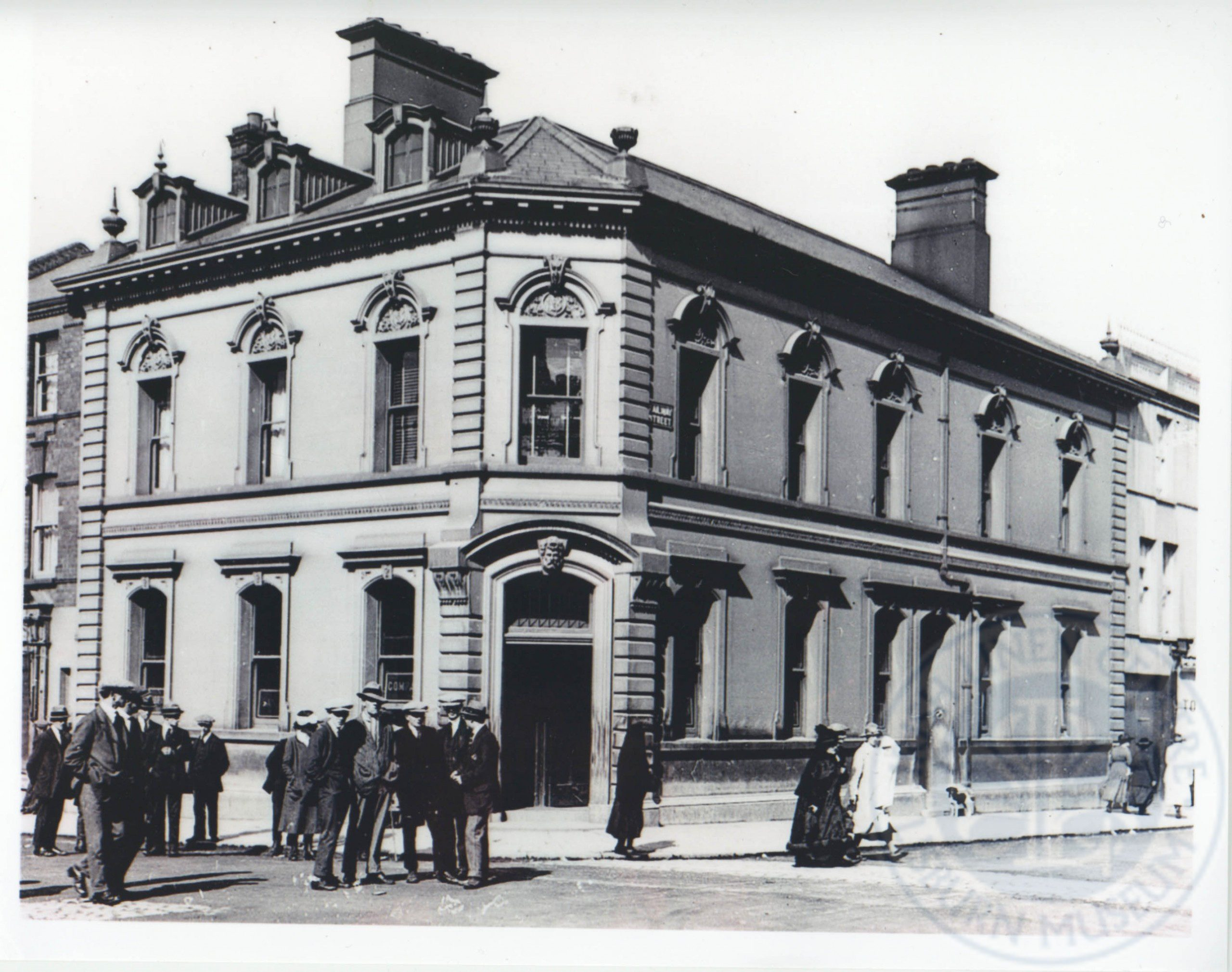 Scene of Swanzy shooting, Lisburn, August 1921 - ILC&LM