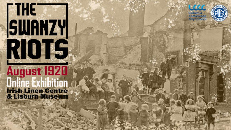 The Swanzy Riots - Lisburn Museum Poster