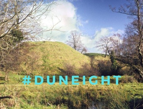 What is a motte and bailey?  Let's look at Duneight, outside Lisburn..