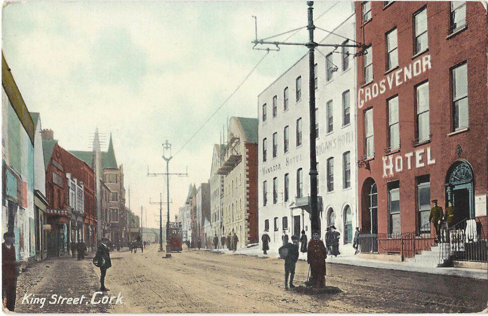 King Street, Cork Postcard