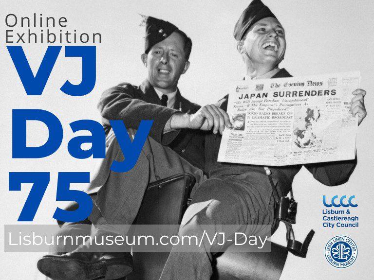VJ Day in Lisburn - Poster