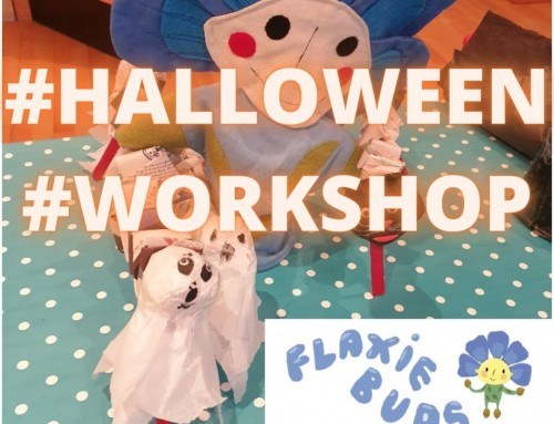Video: Flaxie Buds Halloween Workshop – Dancing Ghosts!