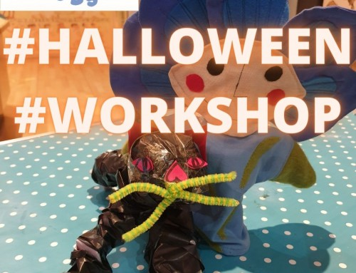 Video: Flaxie Buds Halloween Workshop – The Mummies Cat!