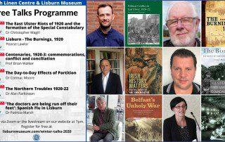 2020 Autumn Winter Talks Programme - Poster