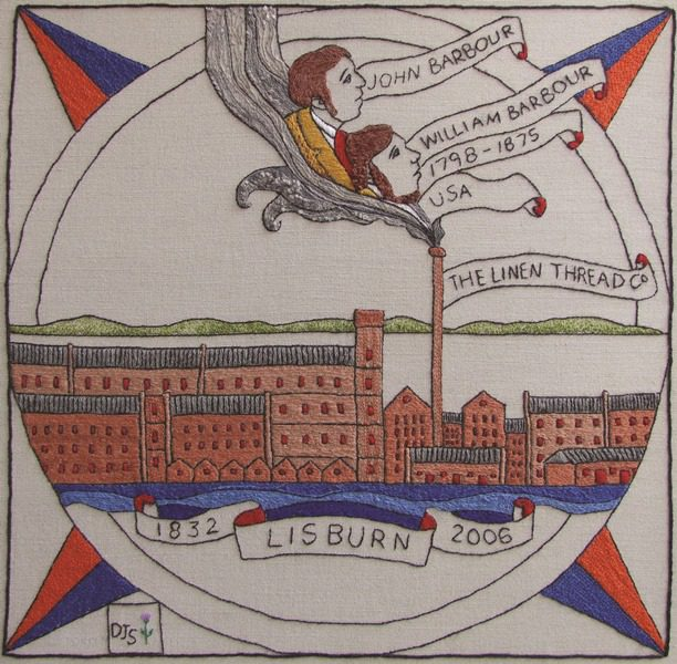 Babrour Ulster Scots Tapestry
