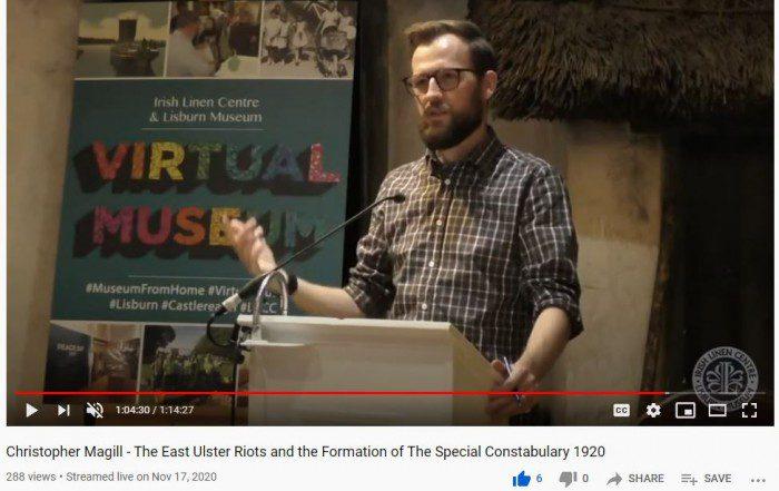 Chris Magill Talk - Video