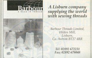 Advert, Barbours c2000