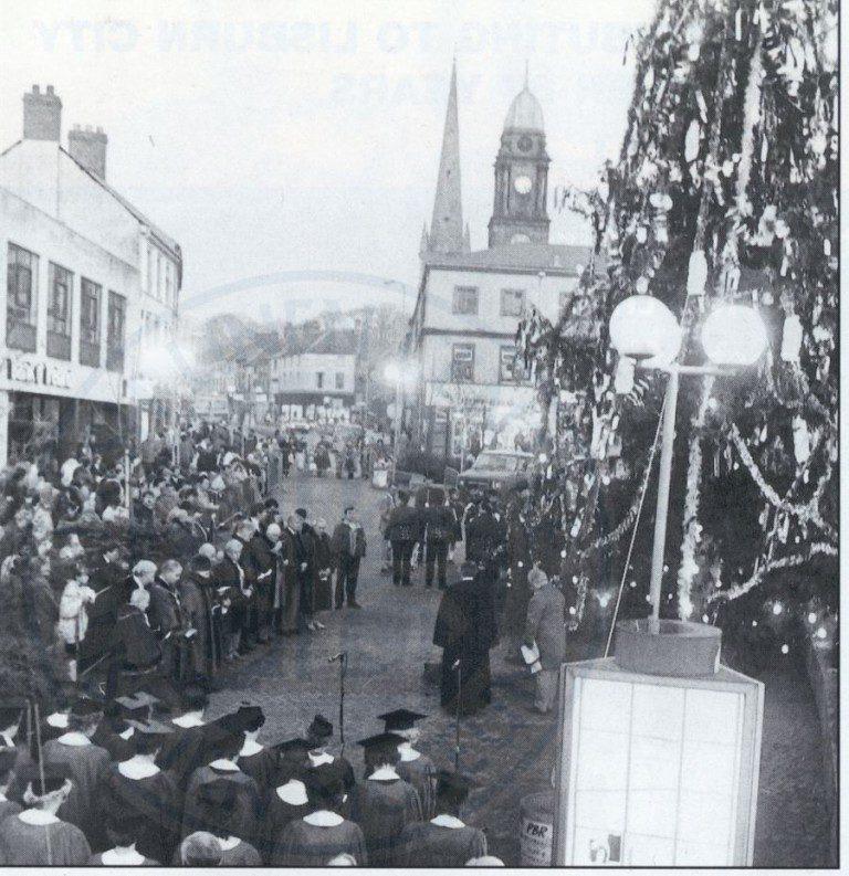 Lisburn Virtual Museum - Switch on of Christmas tree