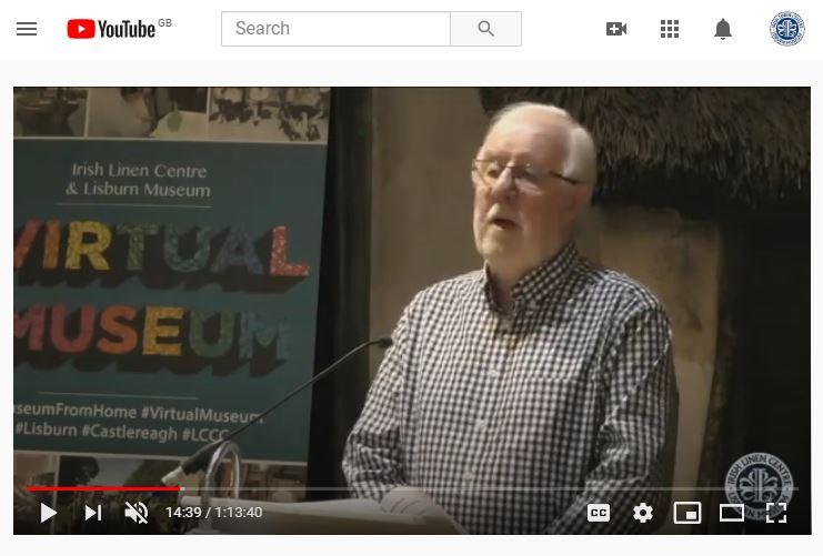 Pearse Lawlor Talk - Video