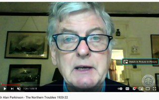 Dr Alan Parkinson Talk - the Northern Troubles 1920-22