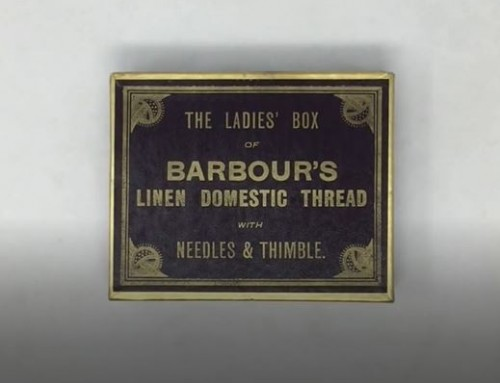 Collection snippets: A Barbour's Domestic Thread Box
