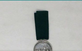 Flax improvement society silver medal