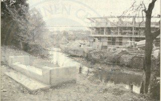 building the new civic centre, Lisburn