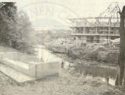 Photo: building the new civic centre, Lisburn