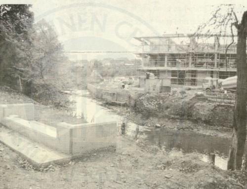 Photo: building the new civic centre, Lisburn
