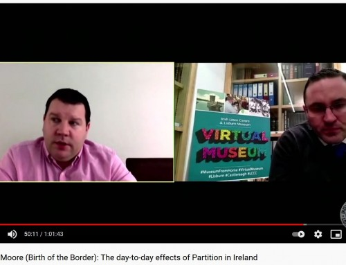 Video: Cormac Moore – The day-to-day effects of Partition in Ireland