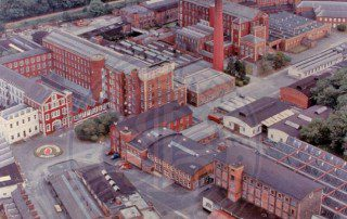 Aerial view of Barbour's Mill