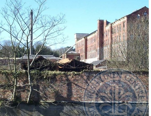 Photo: View of Barbour's from the Towpath