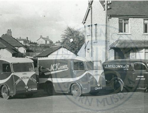 Photo: McKeown's Bread Vans, Lisburn