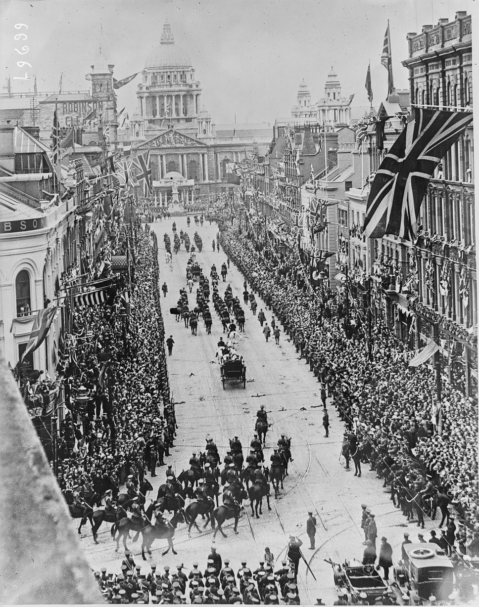 King George V and Queen Mary, Belfast, June 1921
