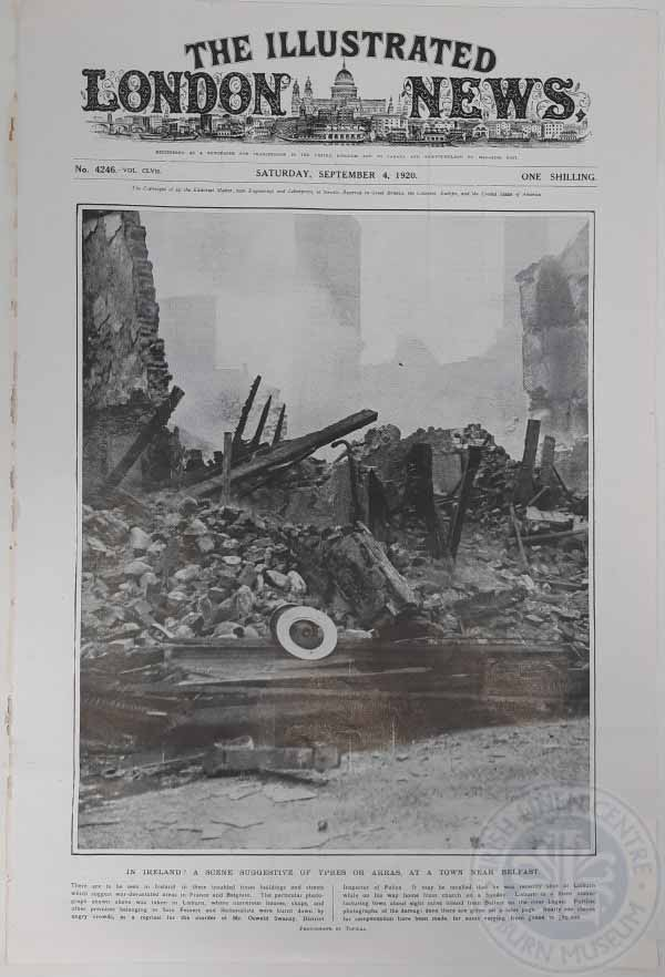 Lisburn-Swanzy-Riots-front-cover-Illustrated-London-News-1920-600x882