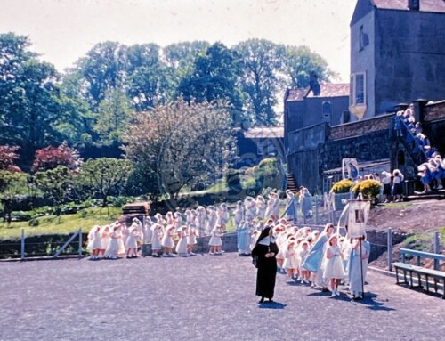 Photo: May Day at the Convent, Seymour Street, 1963