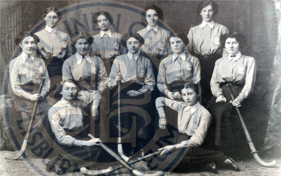 A photo of Lisnagravey Hockey, 1912