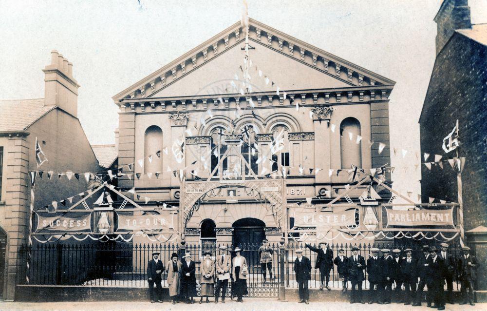 Orange Hall, Lisburn June 1921 - ILC&LM Collection